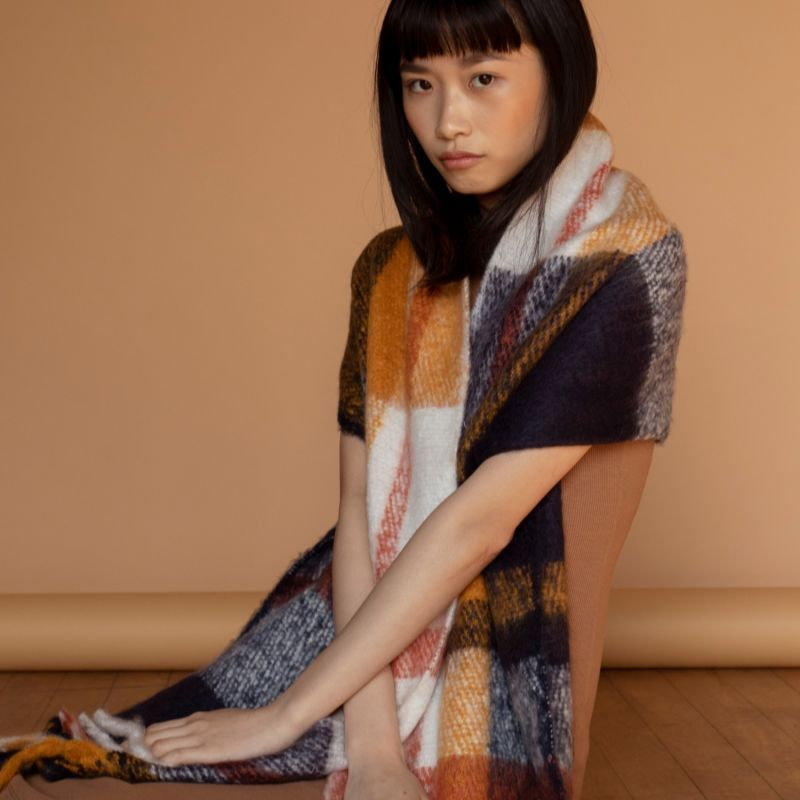 The Stockholm Scarf In Midnight Summer image