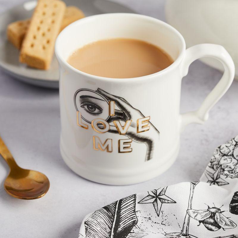 I Love Me Fine Bone China Mug image