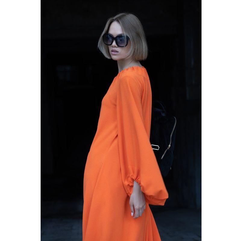 Fashion Orange Long Dress image