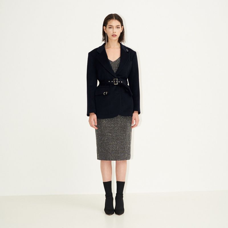 Back To Classic Tailored Jacket Deep Navy image