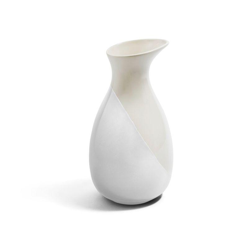 Dip Creamware Jug - White image