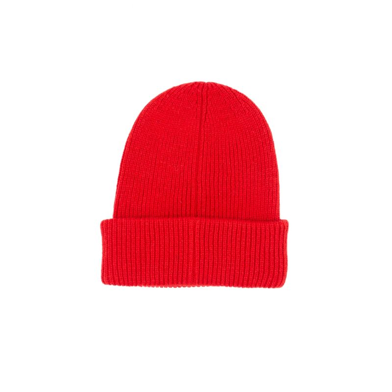 The Recycled Bottle Beanie In Crimson Red image