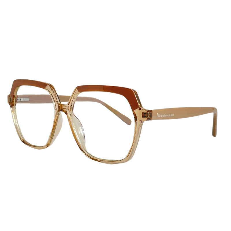 Griffith Blue Light Glasses - Beige image
