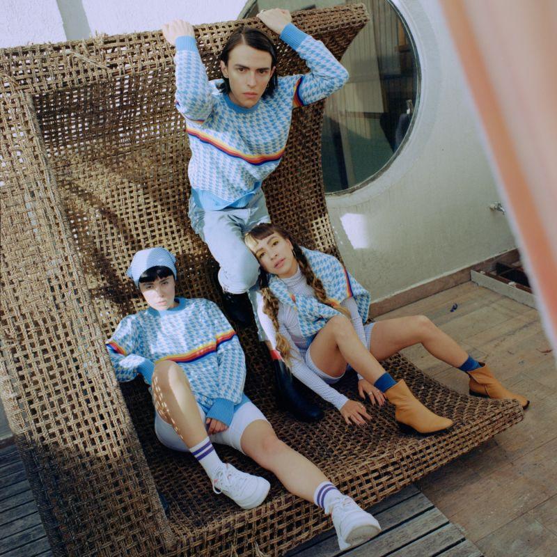 Knitwear Sky Milk Sweater image