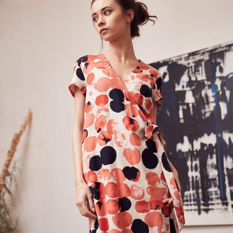 Orange Envelope Dress image
