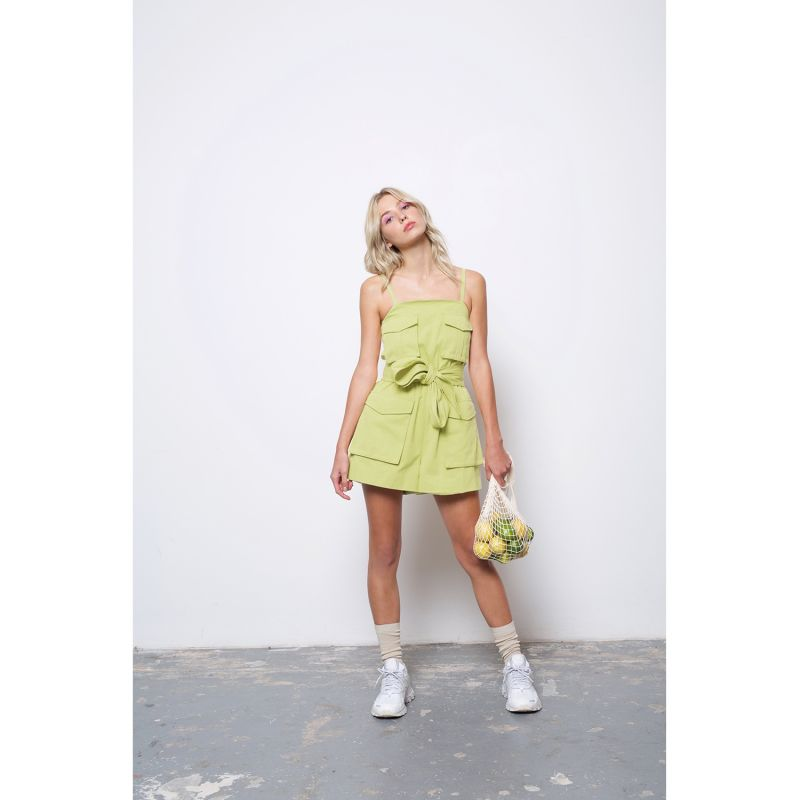 Pelicano Playsuit - Lime image