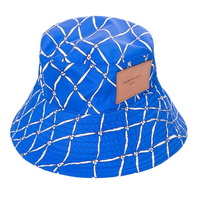 Busa Bucket Hat - Fishnet Blue image
