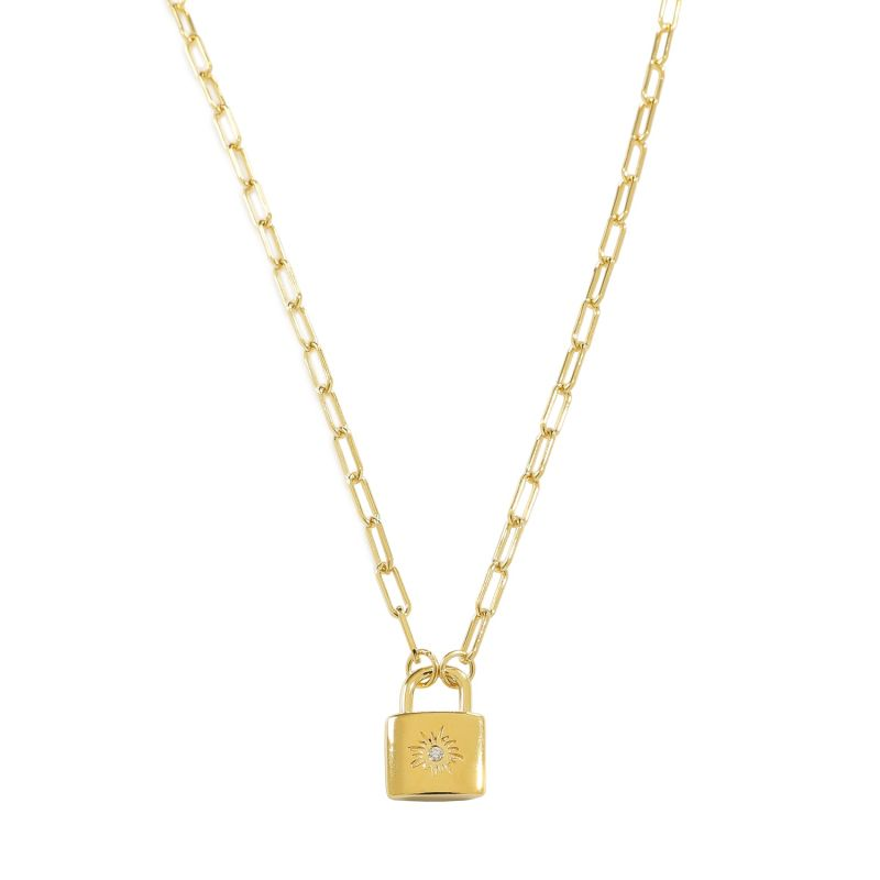 Le Soleil Chain In 18k Gold image