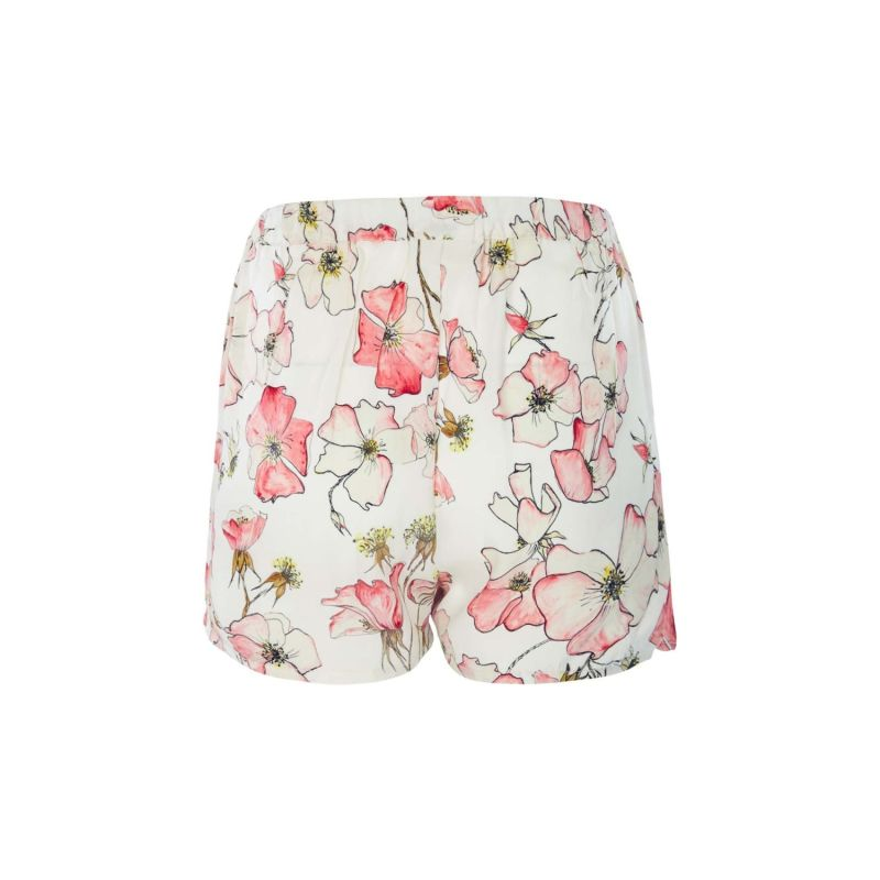 Silk Shorts In Pink Rose image