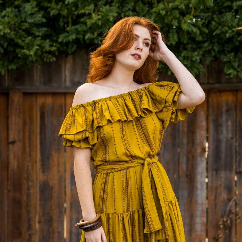 Saffron Veranda Dress image