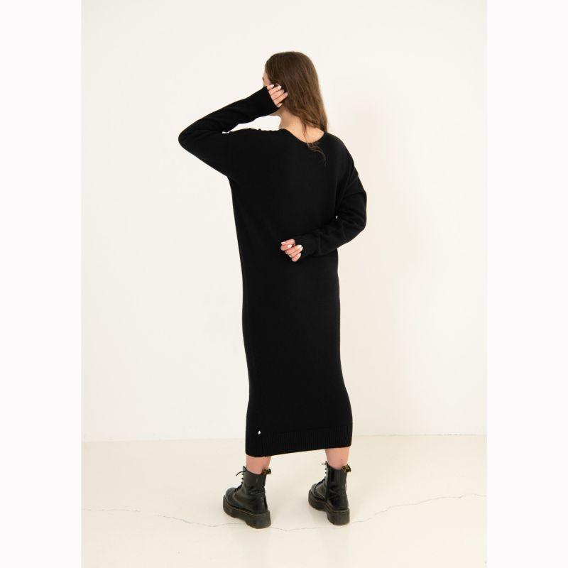 Lungo Sweater Dress Black image