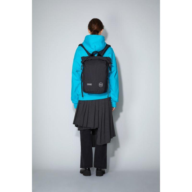 Cornel M Roll Top Backpack Black image