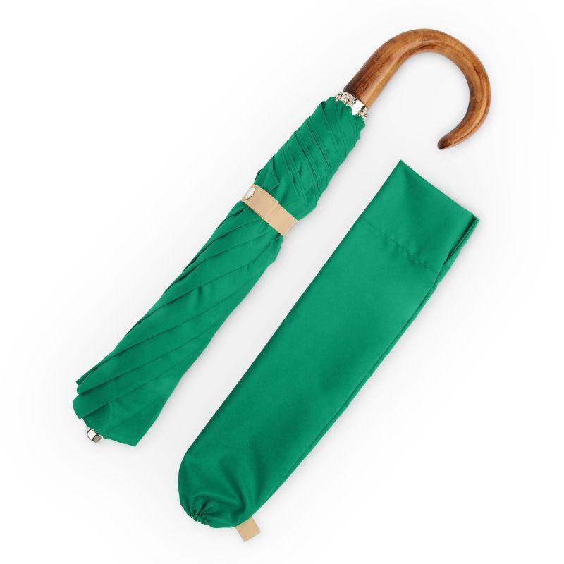 British Folding Umbrella Green/Sand image