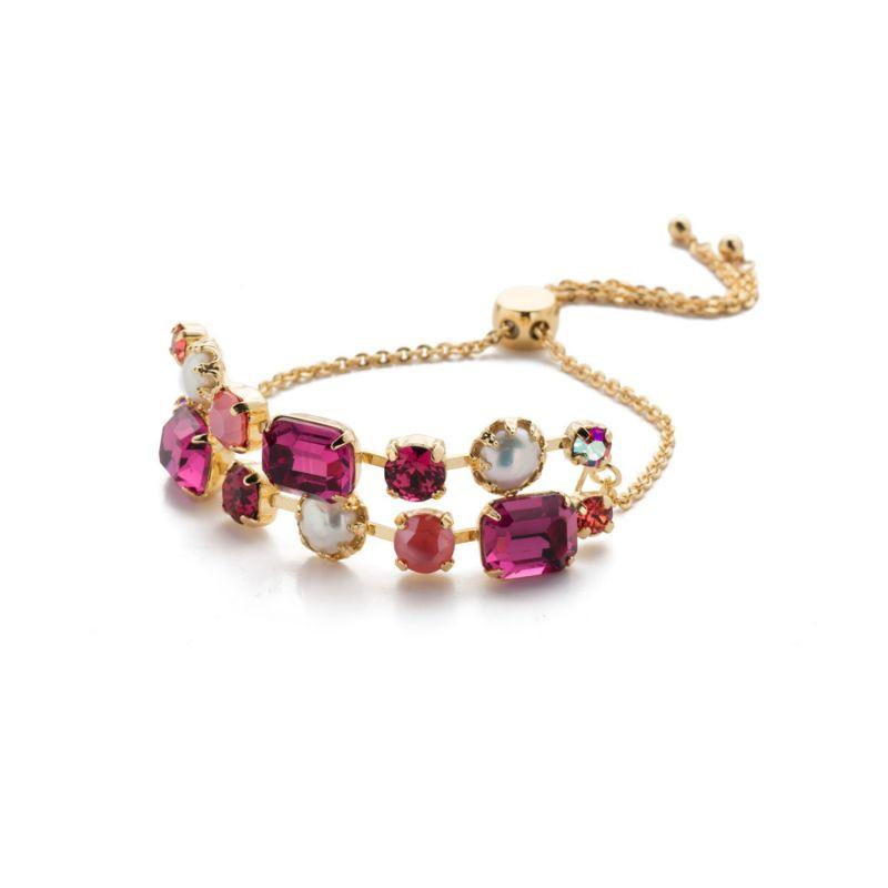 Deandra Slider Bracelet - Begonia image