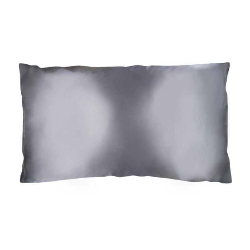 King Organic Silk Pillowcase - Ash Grey image