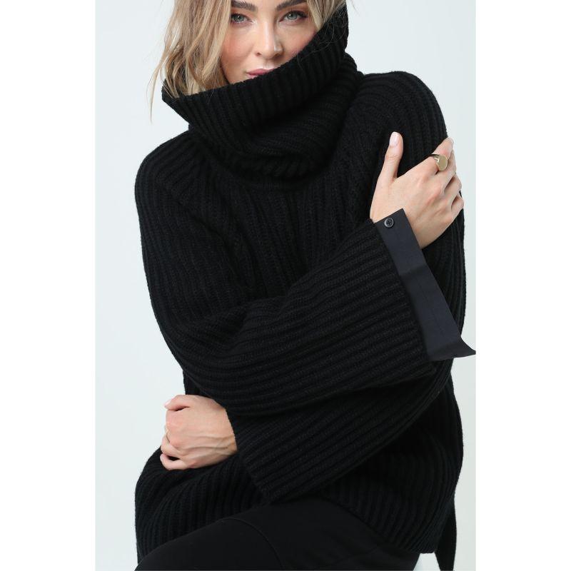 Atlantic Knit - Black image