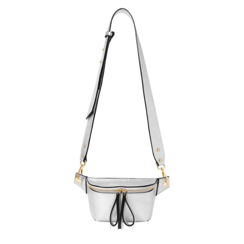 Como Crossbody Bag in Silver image