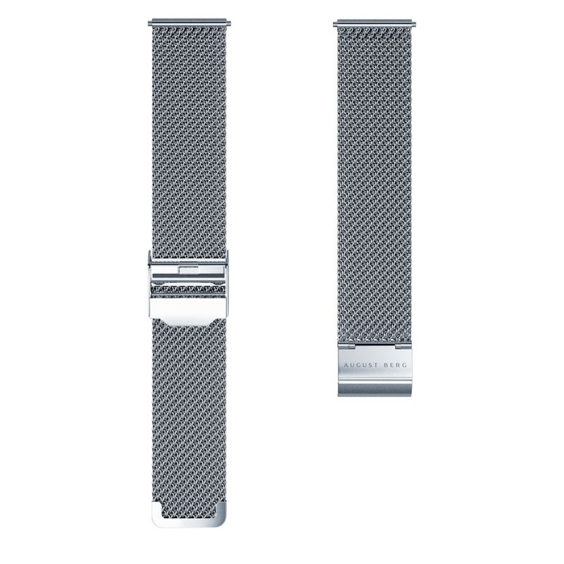 Morris & Co. Pure Silver Love Is Enough - Silver Mesh 30mm image