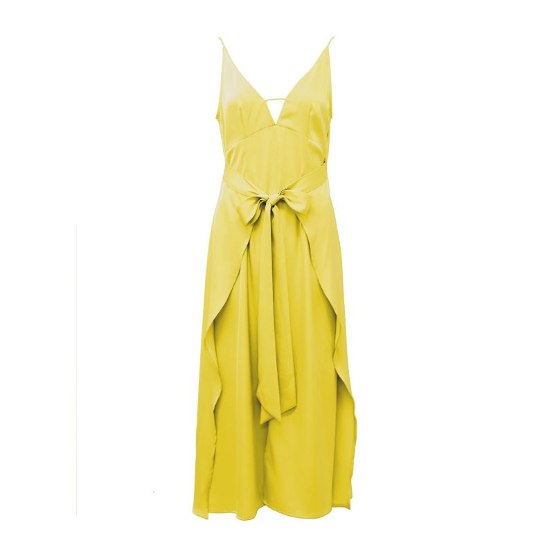 Jolie dress in mustard image