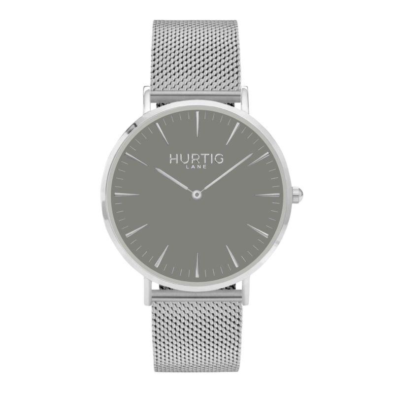 Lorelai Stainless Steel Men'S Watch - Silver, Grey & Silver image