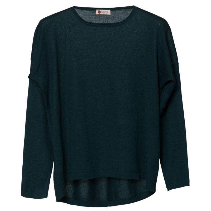Cashmere Silk Sweather Green image