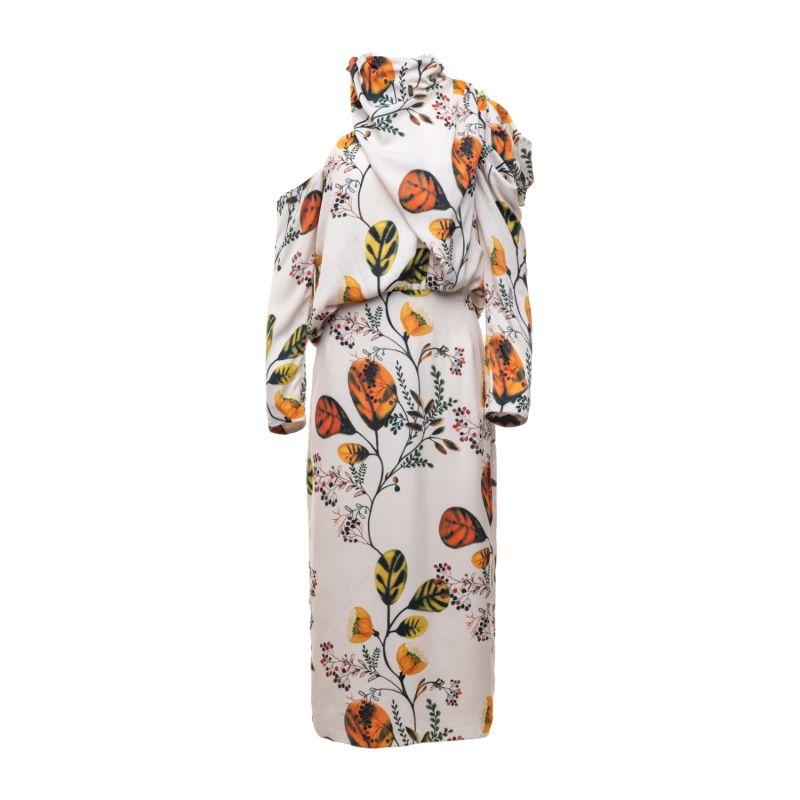 Anabele Botanical Midi Dress image