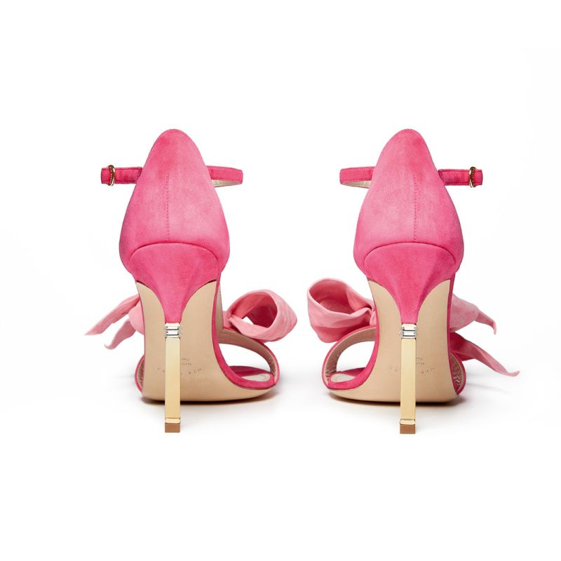 Alessandra Sandal 105 T-Strap In Fuschia/Pink image