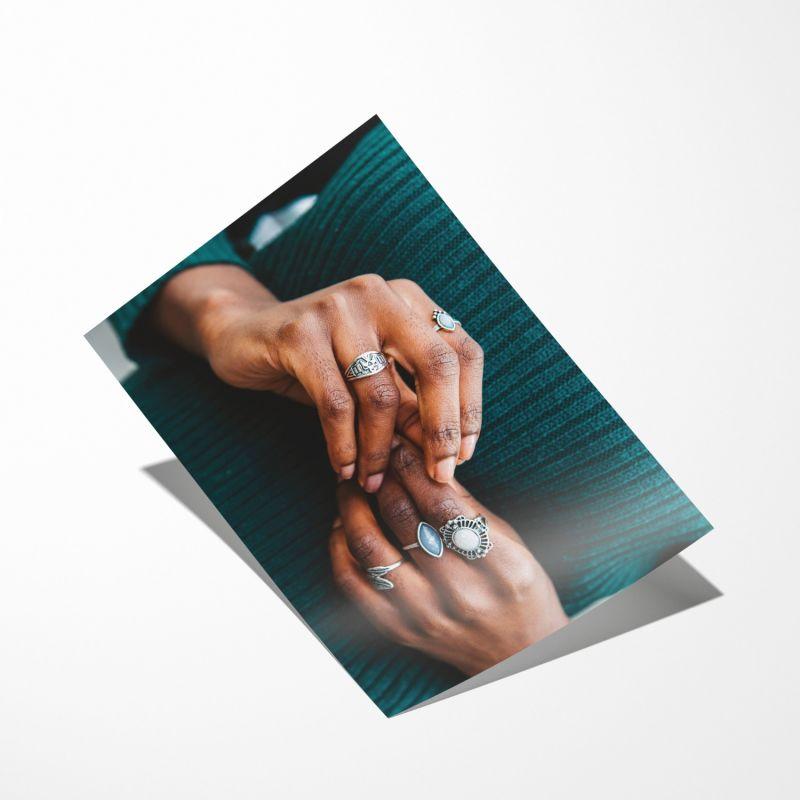 Hands Prints - A2 image