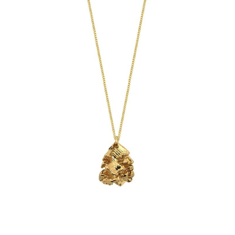 Gold Vortex Pendant image