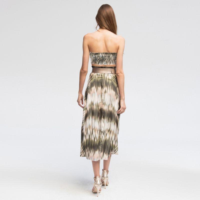 Batik Viscose Summer Skirt & Top image