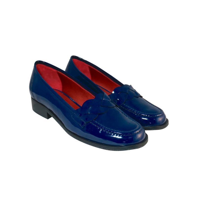 Brigitte - Midnight Patent Leather Loafers image