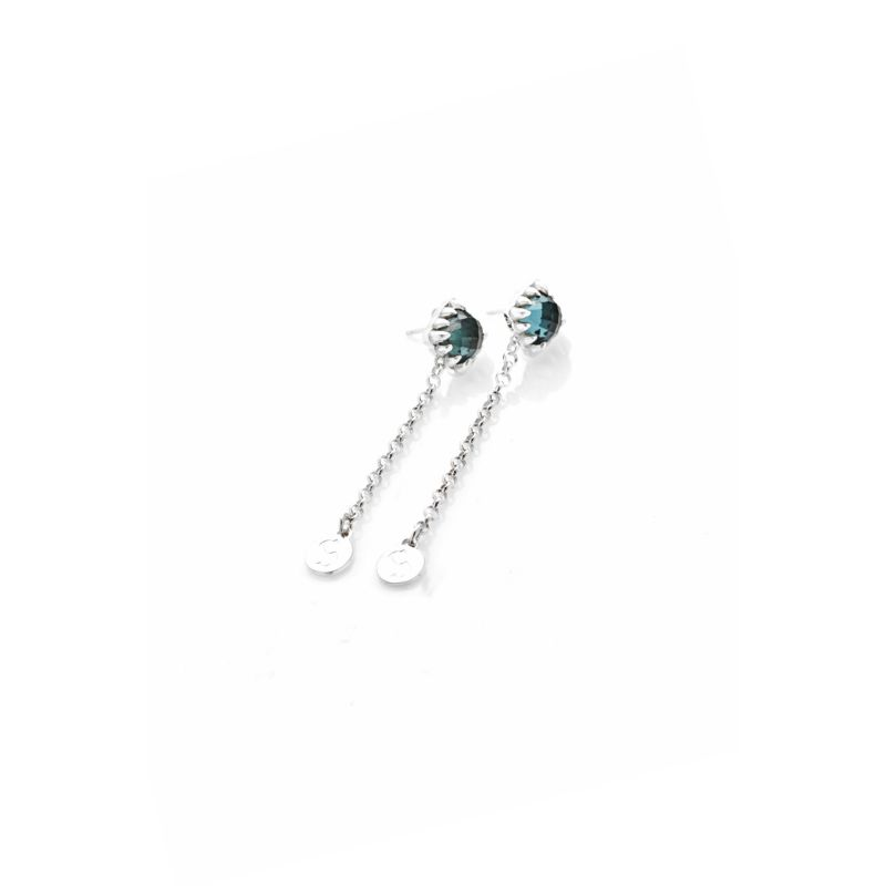 Falling Claw Earring Blue image