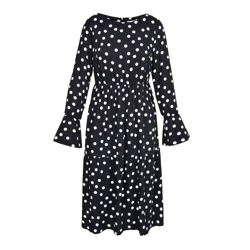 Dots Dress (Neutrals) image