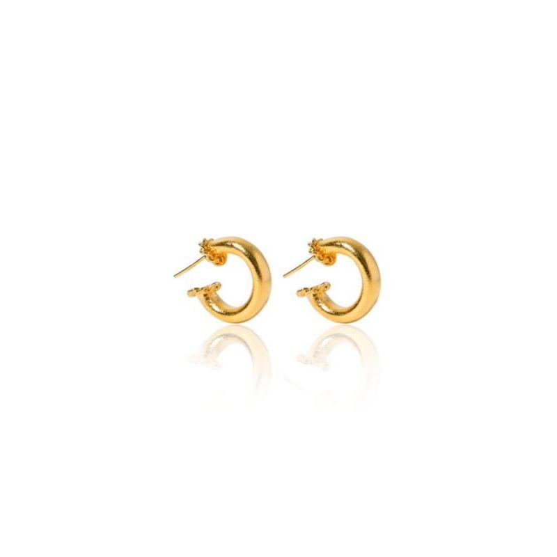 Medium Gold Hoops image