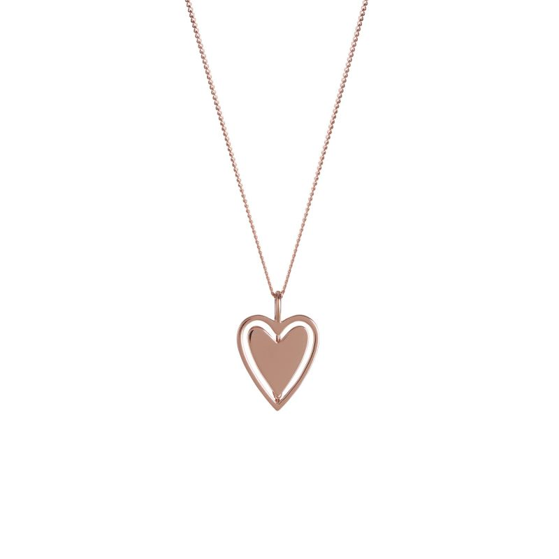 Rose Gold Spinning Around Necklace image
