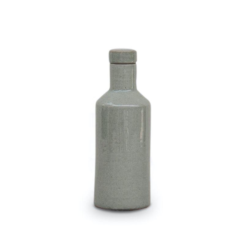 Veda Ceramic Vessel - Dove Green image