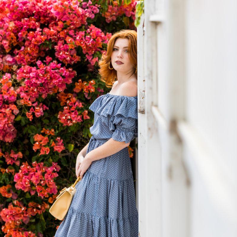 Polka Veranda Dress image