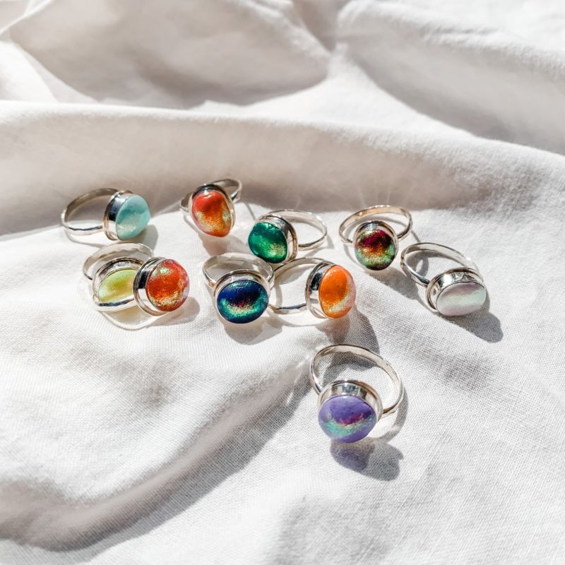Sterling Color Pop Ring image