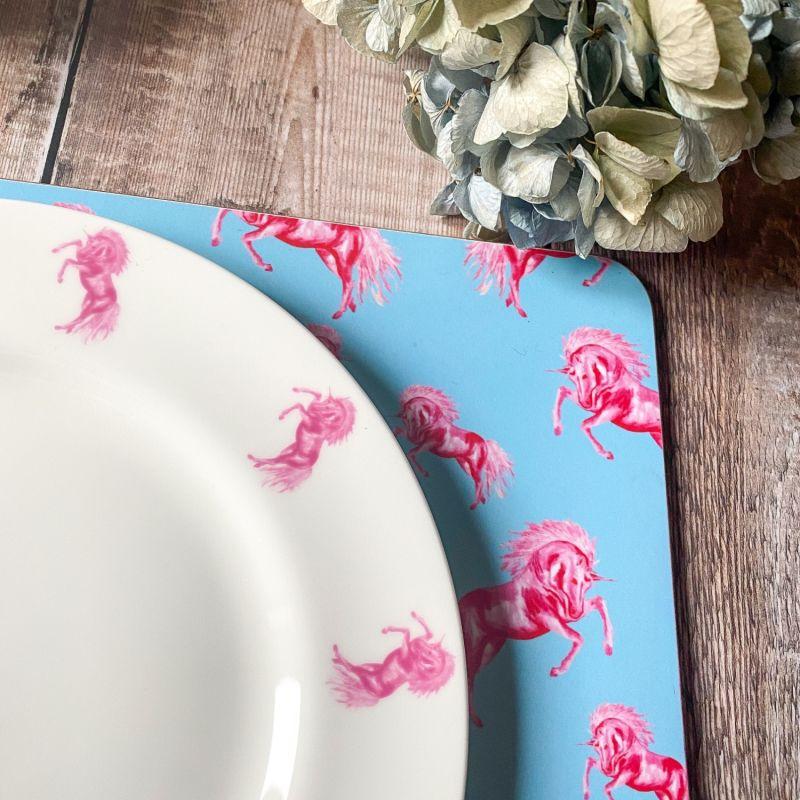 Unicorn Dinner Plate image