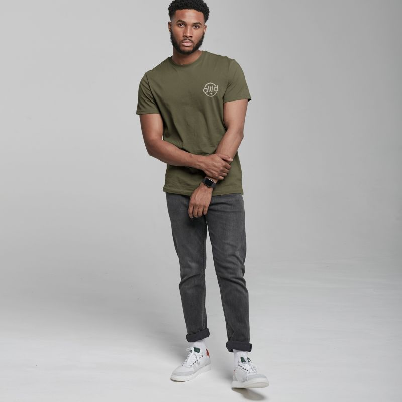 Khaki Graphic T-Shirt image