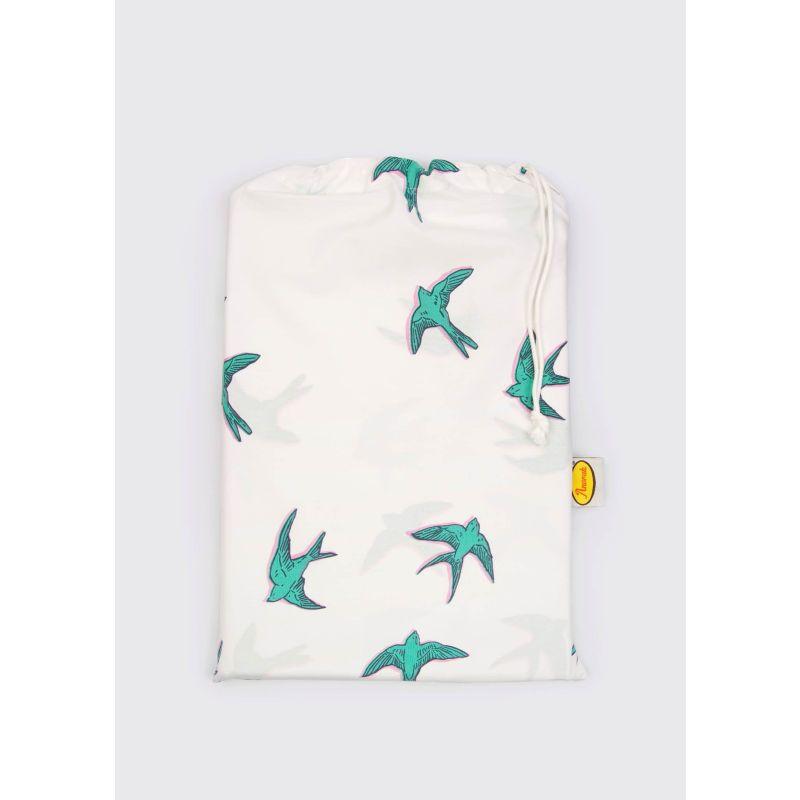 Flying Birds Organic Cotton King Duvet Set image