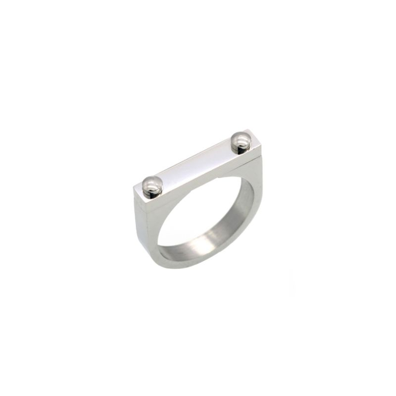 Opes D2 Ring Silver image
