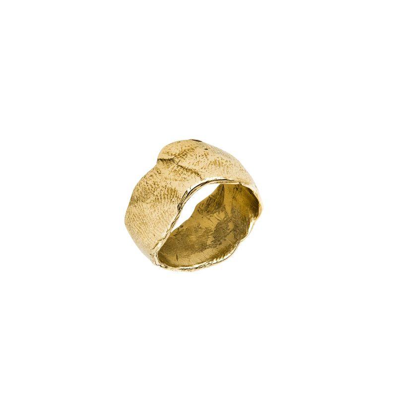 9ct Gold Statement Organic Ring image