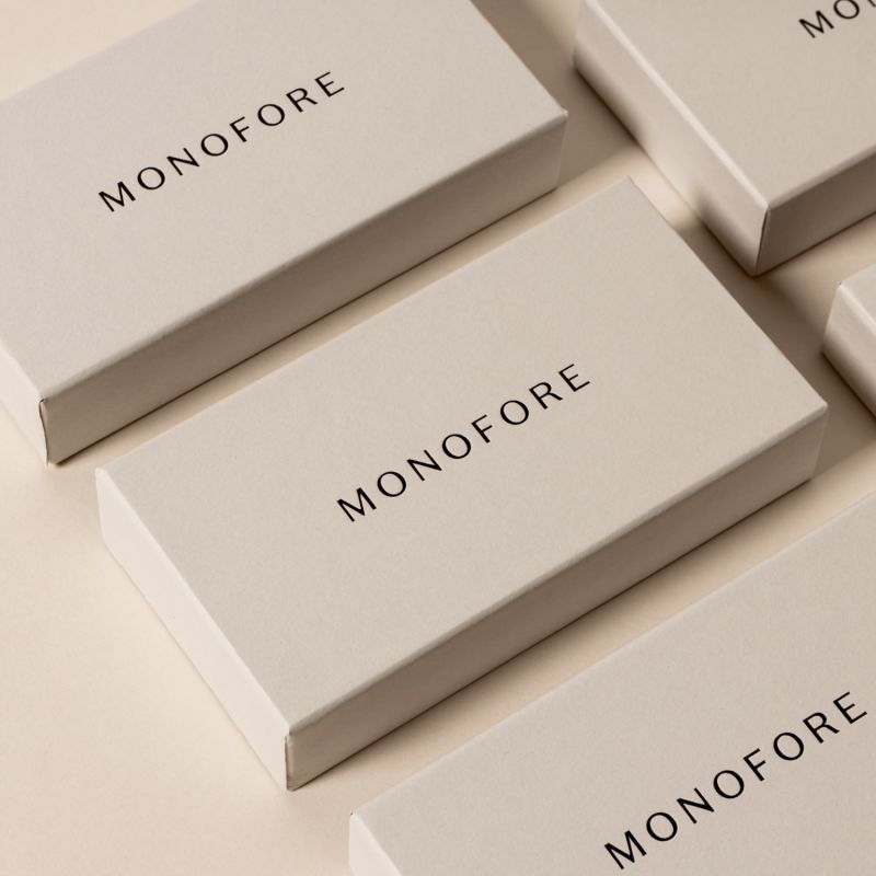 Monofore M01 Gold 35mm - Tan Leather image