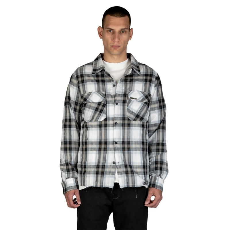 Flannel Shirt - Cream image