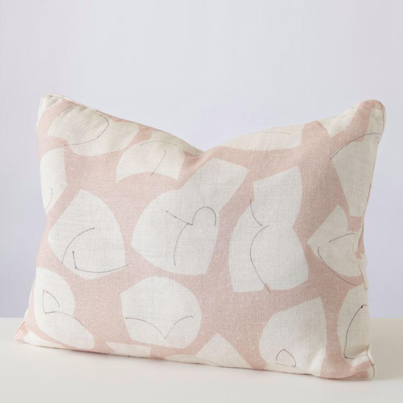No 1 Plaster Pink Cushion image
