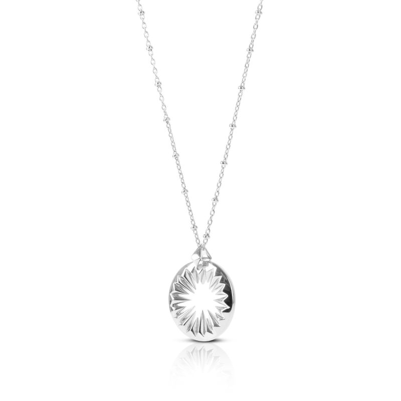 Midnight Sun Pendant Silver image
