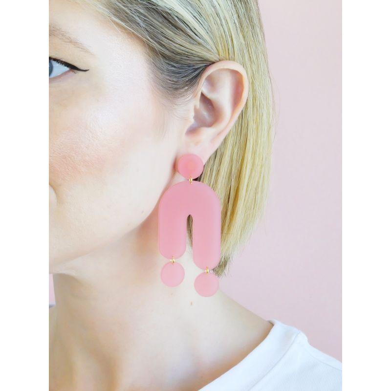 Trip Powder Pink Earrings image