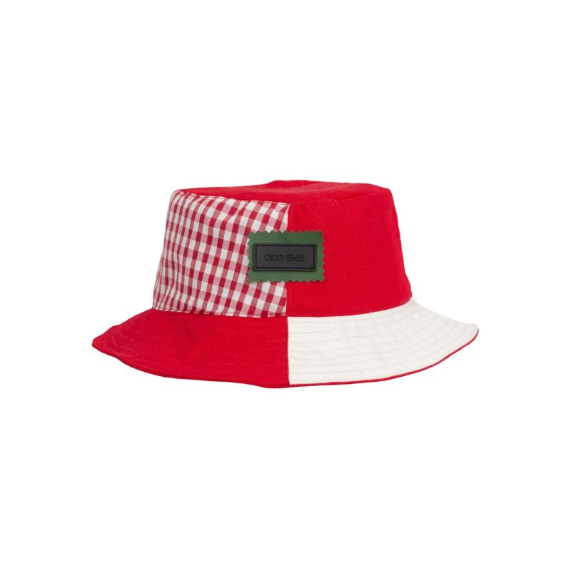4YOU Reversible Upcycled Bucket Hat - Men's - Red & White image