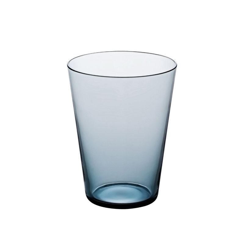Fifty'S Handcrafted Glass Tumbler - Indigo image